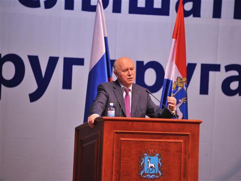 Николай Меркушкин провел встречу с жителями Центрального района Тольятти