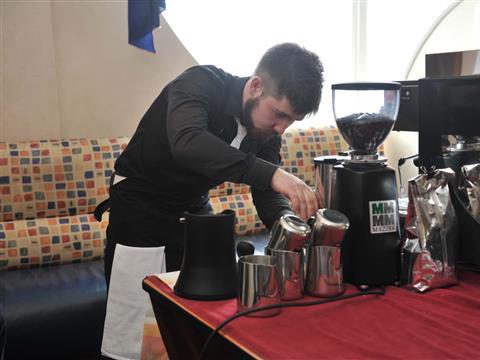 В Самаре прошел первый открытый кофейный чемпионат