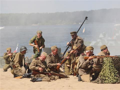 День ВМФ отметили исторической реконструкцией