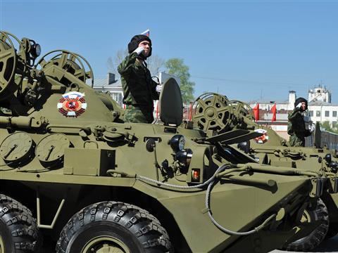 В Самаре прошел парад Великой Победы