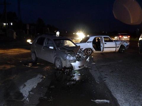 В ДТП с участием четырех машин погиб мужчина