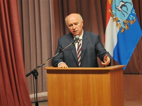 Встреча губернатора Николая Меркушкина с жителями Кинель-Черкасского района