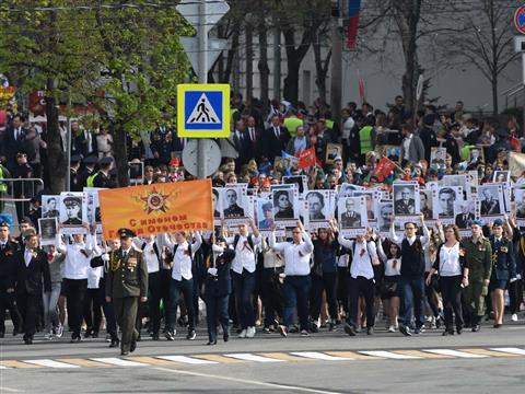 """В акции """"Бессмертный полк"""" участвовало более 180 тысяч жителей области"""