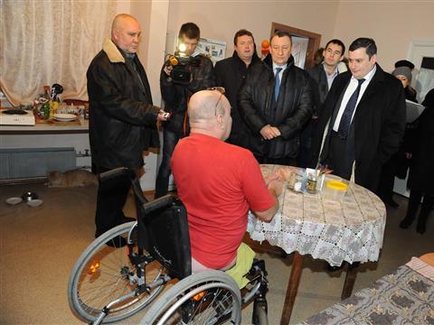 Ситуация вокруг расформирования пансионата для инвалидов в Самаре получает разрешение