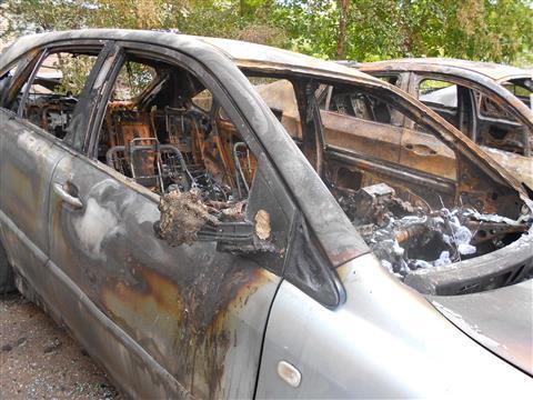 Ночью в Самаре сгорели Lexus, BMW и Mitsubishi