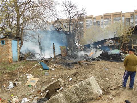 Пожар на ул. Буянова в Самаре ликвидирован