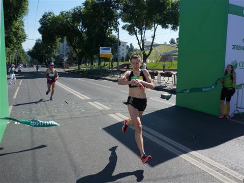 "Самаре прошел ""Зеленый марафон"""