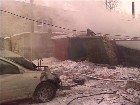 В результате взрыва в Кинеле погибло два человека, один пострадал
