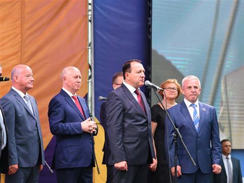 Николай Меркушкин поздравил жителей Новокуйбышевска с Днем города