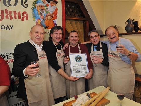 В Самаре установили новый мировой рекорд по приготовлению сациви