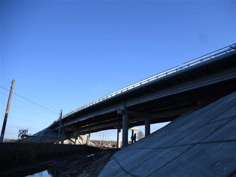 "Мост на автодороге Волжский — ""Курумоч"""