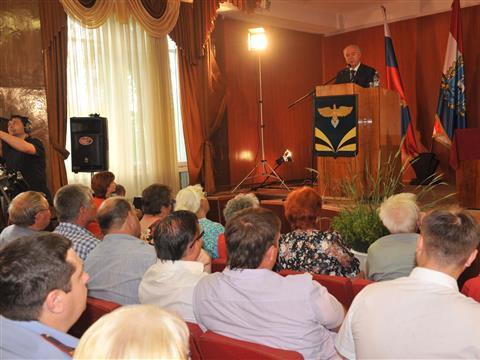 Николай Меркушкин встретился с жителями Безенчукского района