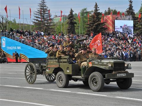 Парад Победы в Самаре собрал более 30 тыс. человек
