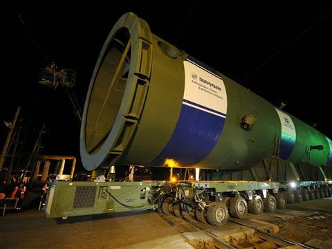 На Сызранский НПЗ доставлено крупнотоннажное оборудование