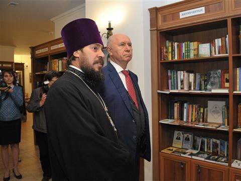 Николай Меркушкин ознакомился с ходом строительства Поволжского православного института