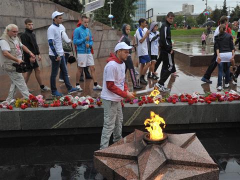 В Самаре прошла VIII легкоатлетическая эстафета на призы губдумы