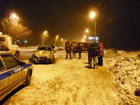 На Московском шоссе произошло крупное ДТП
