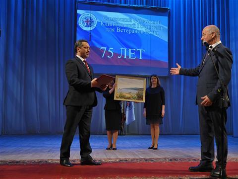 Торжественное мероприятие, посвященное 75-летию Самарского областного клинического госпиталя для ветеранов войн