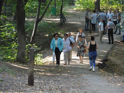 Виктор Воропаев встретился с жителями Промышленного района