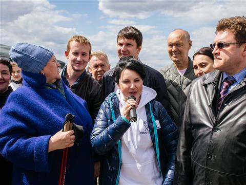 Самару посетила Ирина Слуцкая