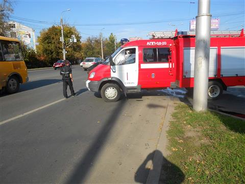 В Самаре в ДТП на проспекте Ленина пострадала беременная женщина