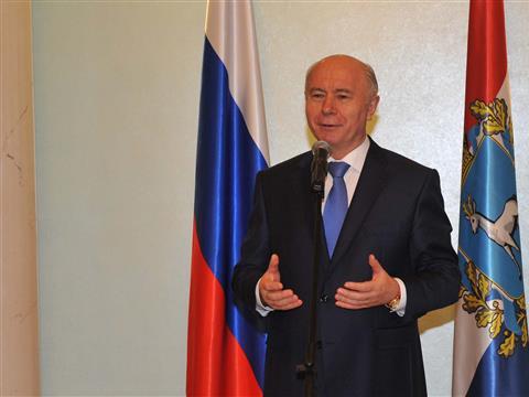 Николай Меркушкин вручил государственные награды заслуженным жителям губернии