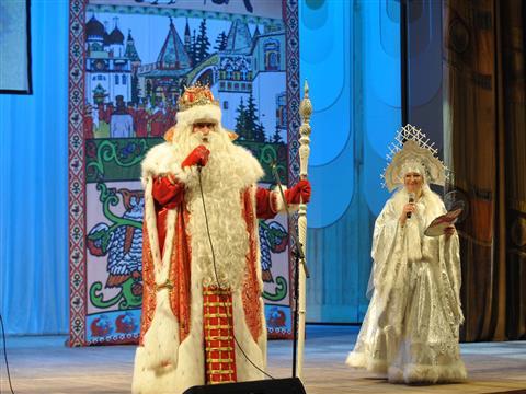 Главный Дед Мороз страны поздравил детей губернии с Новым годом