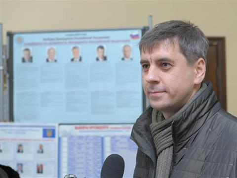 """Сергей Андреев: """"Я совершенно спокоен и наполнен уверенностью"""""""