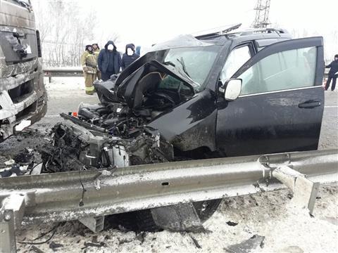 Появилось видео ДТП в Камышлинском районе, в котором погибли три человека