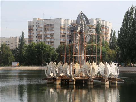 Виктор Сазонов и Олег Фурсов посетили парк им. 50 лет Октября