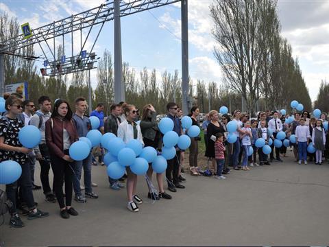 Акция, посвященная памяти летчиков, погибших в Великой Отечественной войне