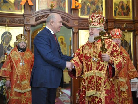 Николай Меркушкин посетил Иверский женский монастырь