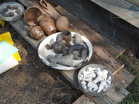В губернии завершается уникальная экспедиция по экспериментальному изучению древнего гончарства
