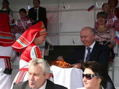 Самарская делегация приняла участие в театрализованном представлении в честь 1000-летия единения народов Мордовии и России