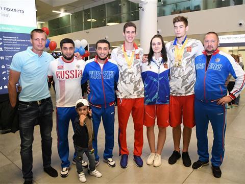 Встреча самарских спортсменов, ставших победителями  XXIX Всемирной летней Универсиады