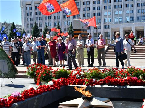 В Самаре почтили память погибших в Великой Отечественной войне