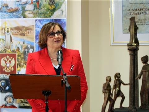 В Самарской губернской думе открылась необычная юбилейная выставка