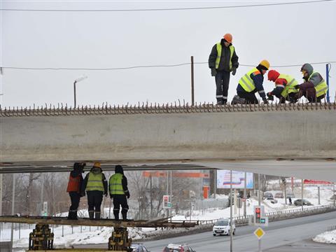 Реконструкция ул. Ташкентской в Самаре подходит к завершению