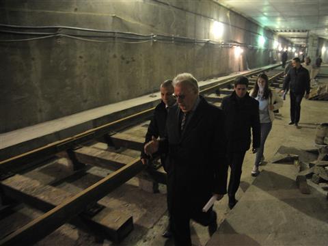 """Станцию метро """"Алабинская"""" могут ввести в эксплуатацию по постоянной схеме раньше намеченного срока"""