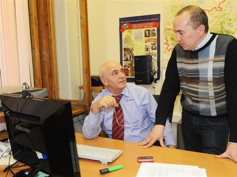 Владимир Артяков посетил главный информационный центр облизбиркома