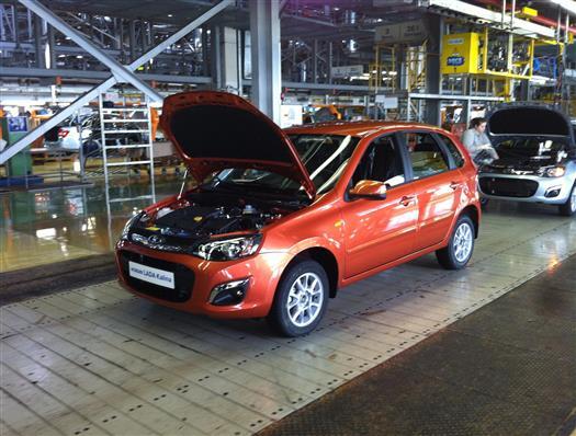 На АвтоВАЗе стартовало производство Lada Kalina второго поколения