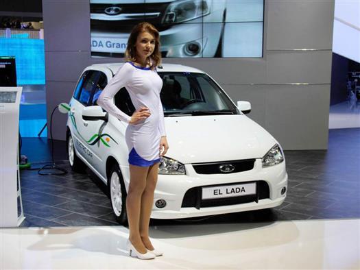 АвтоВАЗ представил новую версию электромобиля EL Lada