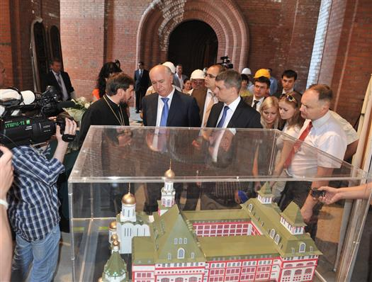 """Николай Меркушкин: """"Православный институт в Тольятти может стать уникальнейшим сооружением в стране"""""""
