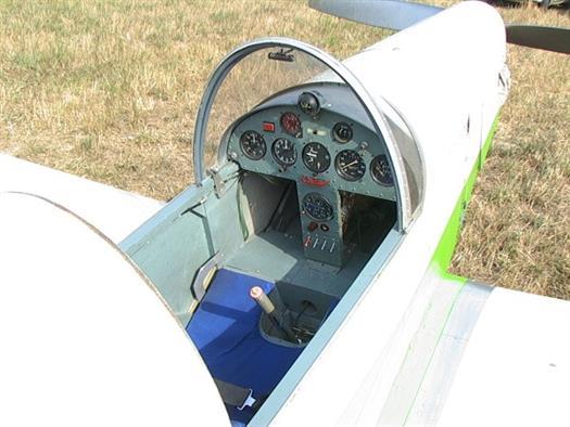 В Ставропольском районе упал легкомоторный самолет