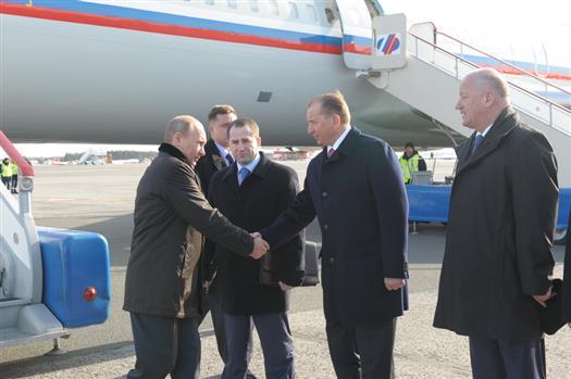 Начался официальный визит председателя правительства РФ Владимира Путина в Самарскую область