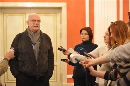 Никита Михалков во время визита в Самару рассказал, когда начнет снимать новый фильм