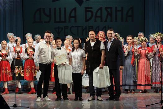 """Тольятти принял фестиваль """"Душа Баяна"""""""