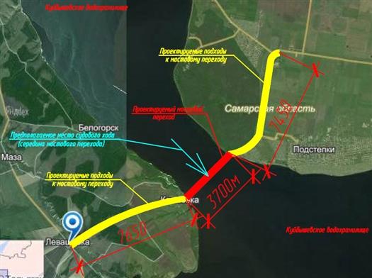 Строительство моста в районе Климовки обойдется примерно в 42 млрд рублей