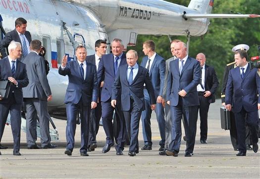 В 2014 году глава государства Владимир Владимирович Путин впервые посетил Самару