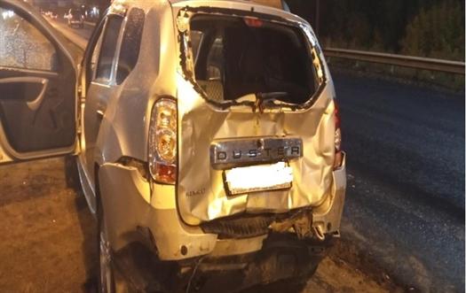 На трассе Самара — Бугуруслан в Самарской области пострадал пассажир Renault